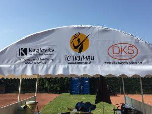 Plane mit Sponsoren Keglovits und DKS