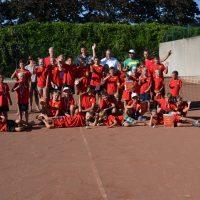 Teilnehmer des Jugend-Tennis-Camps